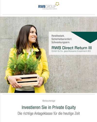 Cover der Produktbroschüre des Direct Return III