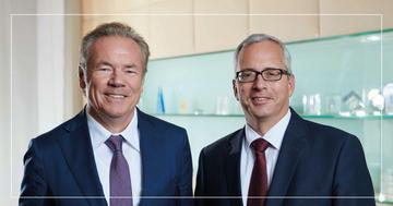 Horst Güdel und Norman Lemke